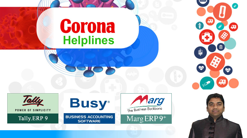 SUPPORT HELPLINES of TALLY, BUSY & MARG During CORONA Curfew