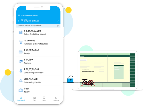 Run Tally on Mobile - Best Tally Mobile App in India