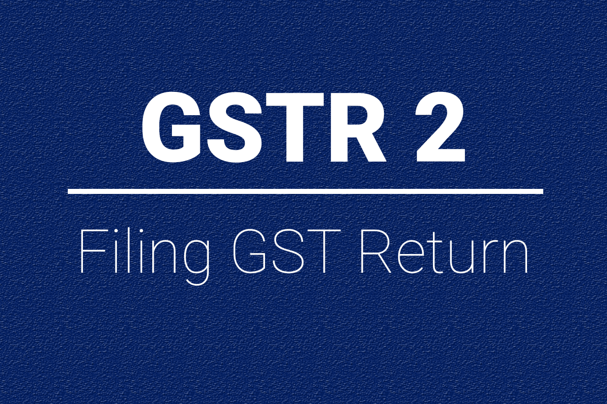 How To File GSTR2 Return From Busy Software