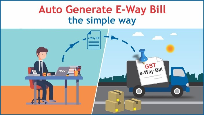 Auto Generate Eway Bill In Busy Without Going To GST Portal