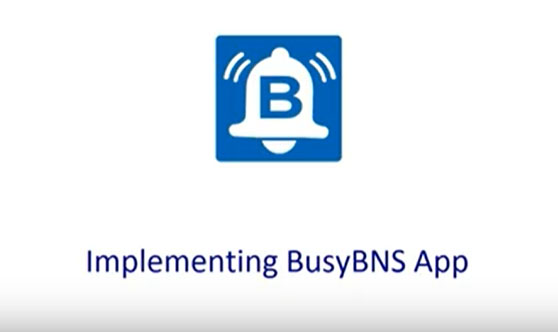 How to Download and Configure Busy BNS Mobile Application